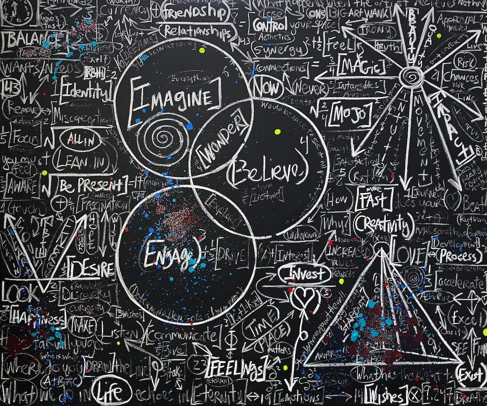 Brendan Murphy, Chalkboard Series: Invest 2018