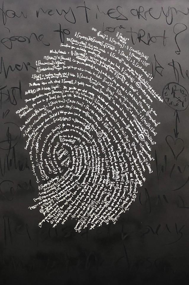 Brendan Murphy, Fingerprint Series: Moments in Time 2018